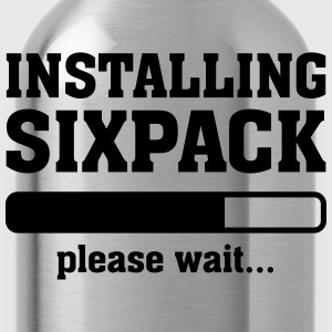 Installing Sixpack (Please wait) Tee shirts - Gourde