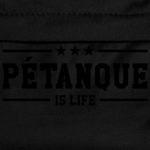 Petanque is life T-Shirts - Kids' Backpack
