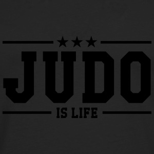 Judo is life Tee shirts - T-shirt manches longues Premium Homme