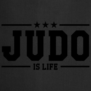 Judo is life Camisetas - Delantal de cocina