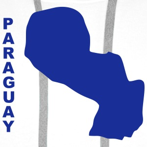 South America - Paraguay Shirts - Men's Premium Hoodie