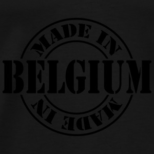 made_in_belgium_m1 Skjorter - Premium T-skjorte for menn