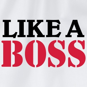 Like a Boss T-shirts - Gymtas