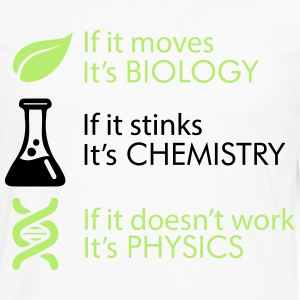Biology - Chemistry - Physics T-Shirts - Men's Premium Longsleeve Shirt