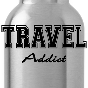 Travel Addict T-Shirts - Water Bottle
