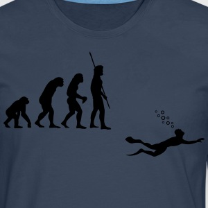 Evolution Diving Camisetas - Camiseta de manga larga premium hombre