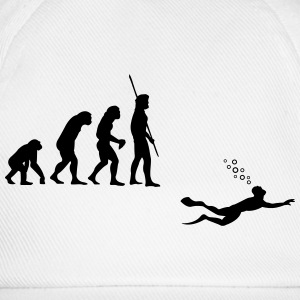 Evolution Diving T-shirts - Baseballkasket