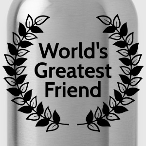 worlds greatest friend 's werelds grootste vriend Sweaters - Drinkfles