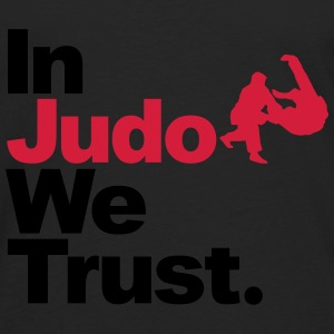 In Judo we trust Sweat-shirts - T-shirt manches longues Premium Homme