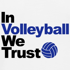 In Volleyball we trust Bouteilles et tasses - T-shirt Premium Homme