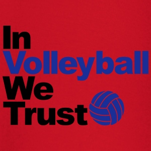 In Volleyball we trust Sweat-shirts - T-shirt manches longues Bébé