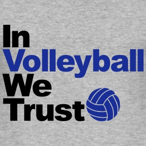 In Volleyball we trust Sweat-shirts - Tee shirt près du corps Homme
