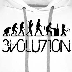 Evolution Craft Tee shirts - Sweat-shirt à capuche Premium pour hommes