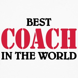 Best Coach in the World T-skjorter - Premium langermet T-skjorte for menn