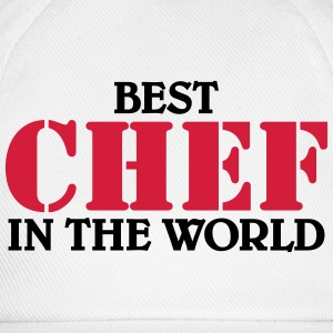 Best Chef in the World T-shirts - Basebollkeps