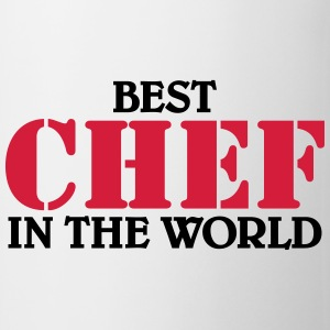 Best Chef in the World T-shirts - Mugg