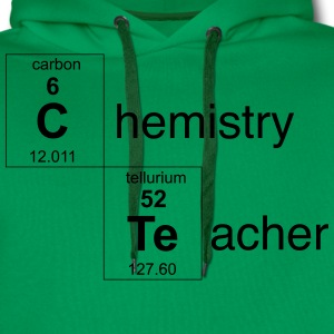 Chemistry Teacher Periodic Elements T-Shirts - Men's Premium Hoodie