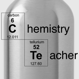 Chemistry Teacher Periodic Elements T-Shirts - Water Bottle