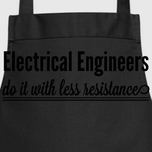 Electrical Engineers Do It With Less Resistance T-Shirts - Cooking Apron
