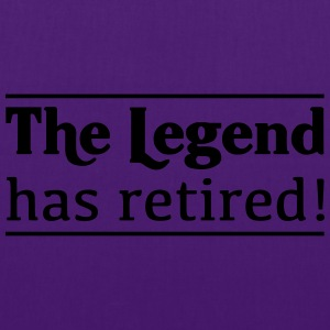 The Legend Has Retired! T-Shirts - Tote Bag