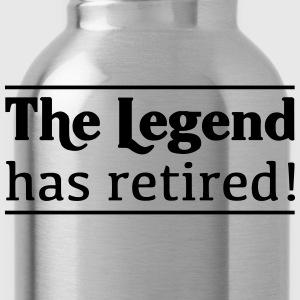 The Legend Has Retired! T-Shirts - Water Bottle