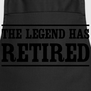 The Legend Has Retired T-Shirts - Cooking Apron