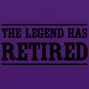 The Legend Has Retired T-Shirts - Tote Bag