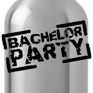 Bachelor Party Team Stempel Design T-Shirts - Water Bottle
