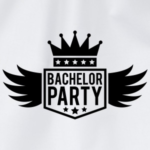 Bachelor in vleugel Crown banner T-shirts - Gymtas
