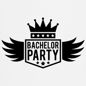 Bachelor in vleugel Crown banner T-shirts - Keukenschort
