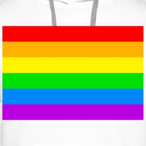 Fierté Gay - Pride Collection - Sweat-shirt à capuche Premium pour hommes