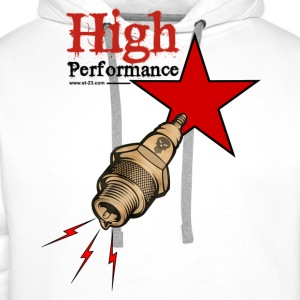 high performance - Sweat-shirt à capuche Premium pour hommes