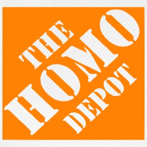 White the homo depot T-Shirts - Baseball Cap