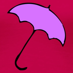 Pink Brolly Ladies' - Women's Premium T-Shirt