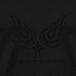 Wings of Freedom - Männer Premium T-Shirt
