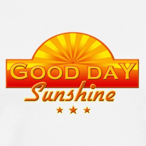 White Good Day Sunshine Ladies' - Men's Premium T-Shirt