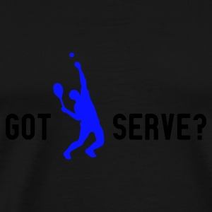 Schwarz got serve? (2 colors) T-Shirt - Männer Premium T-Shirt