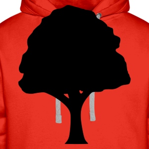 Red Tree Tops - Men's Premium Hoodie