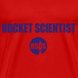 rocket scientist - Herre premium T-shirt