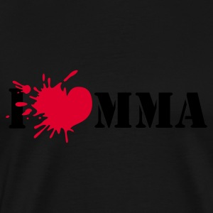I love mixed martial art - Premium-T-shirt herr