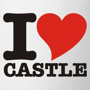 White I Love Castle Tops - Mug