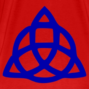 Red Celtic Knot Ladies' - Men's Premium T-Shirt