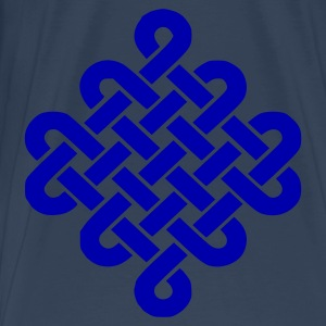Aqua Celtic Knot Ladies' - Men's Premium T-Shirt