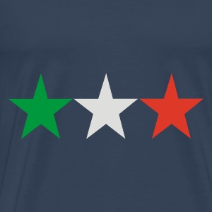 Aqua italian stars Ladies' - Men's Premium T-Shirt