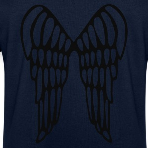 Aqua Angel Wings Flying Ladies' - Men's Sweatshirt by Stanley & Stella