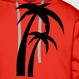 Red Palm Ladies' - Men's Premium Hoodie