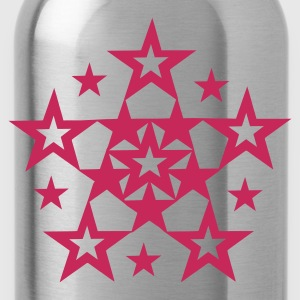 Orange Stars  Ladies' - Water Bottle