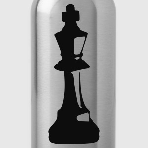 Black King - Chess Ladies' - Water Bottle