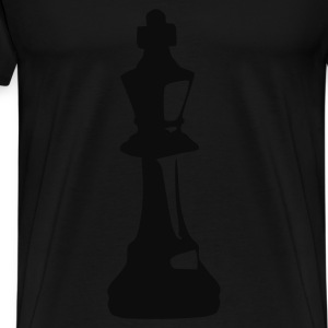 Svart King - Chess Girlie - Premium T-skjorte for menn