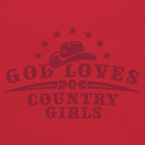 Orange ::GOD LOVES COUNTRY GIRLS:: T-Shirts (Kurzarm) - Retro Tasche